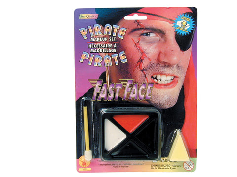 Pirate Makeup Kit - HalloweenCostumes4U.com - Accessories