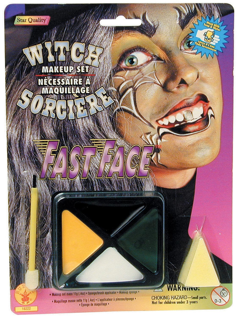 Witch Makeup Kit - HalloweenCostumes4U.com - Accessories