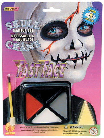 Skull Makeup Kit - HalloweenCostumes4U.com - Accessories