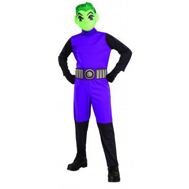 Boys Teen Titans Beast Boy Costume - HalloweenCostumes4U.com - Kids Costumes