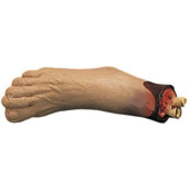 Cut Off Foot Prop - HalloweenCostumes4U.com - Decorations