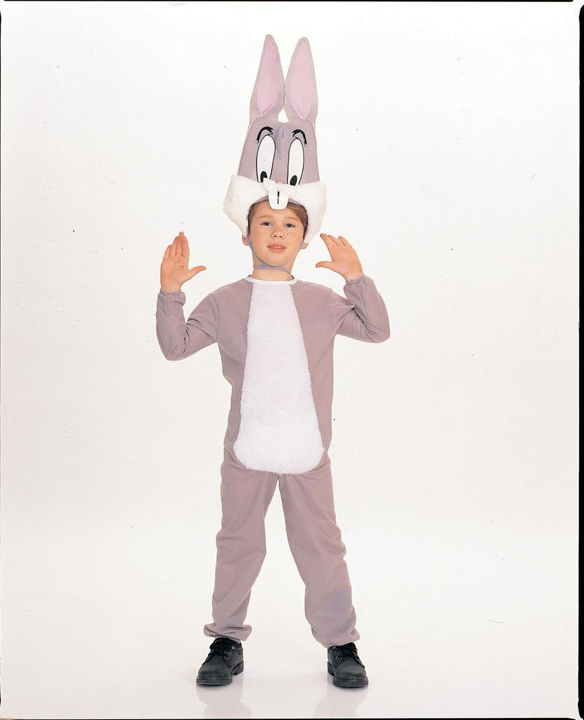 Toddlers Kids Looney Tunes Bugs Bunny Costume Halloween