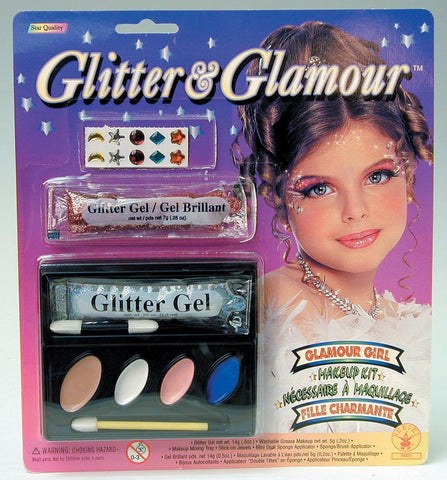 Glitter & Glamour Glamour Girl Makeup Kit - HalloweenCostumes4U.com - Accessories