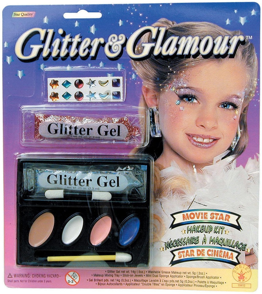 Glitter & Glamour Movie Star Makeup Kit - HalloweenCostumes4U.com - Accessories
