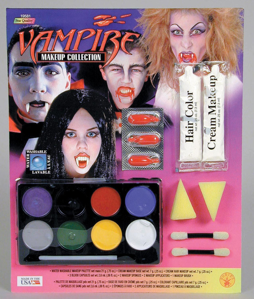 Deluxe Vampire Makeup Kit - HalloweenCostumes4U.com - Accessories