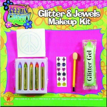 Glitter and Jewels Makeup Kit - HalloweenCostumes4U.com - Accessories