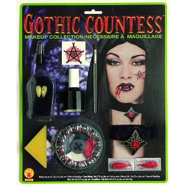 Gothic Countess Makeup Kit - HalloweenCostumes4U.com - Accessories