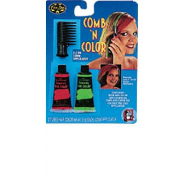 Comb 'N' Color Kit - Various Colors - HalloweenCostumes4U.com - Accessories - 3
