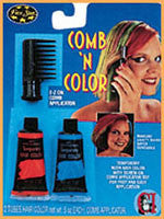 Comb 'N' Color Kit - Various Colors - HalloweenCostumes4U.com - Accessories - 1