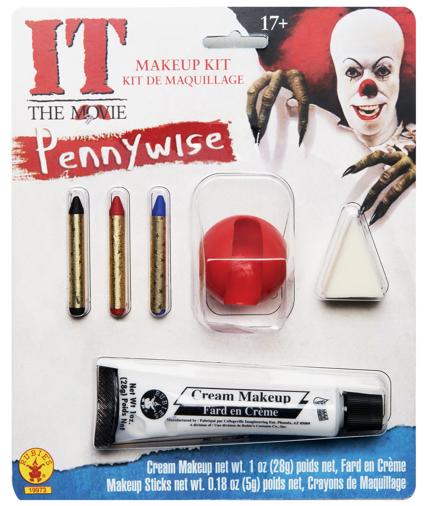 Stephen King's It Pennywise Clown Makeup Kit - HalloweenCostumes4U.com - Accessories