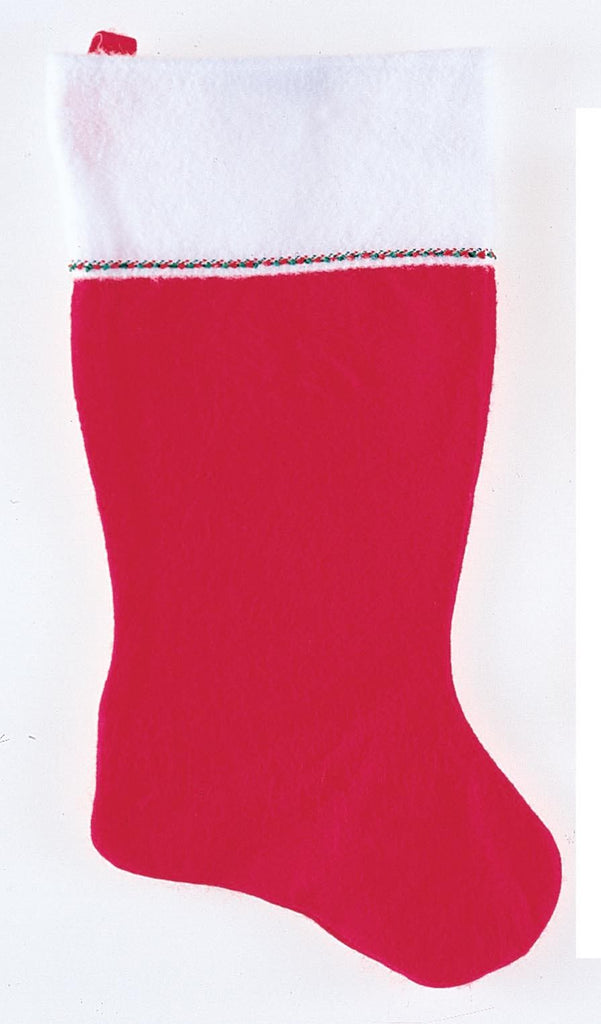 Classic Red Felt Stocking - Various Sizes