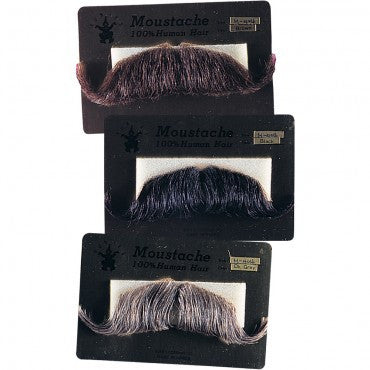 Colonel Major's Moustaches - Various Colors - HalloweenCostumes4U.com - Accessories
