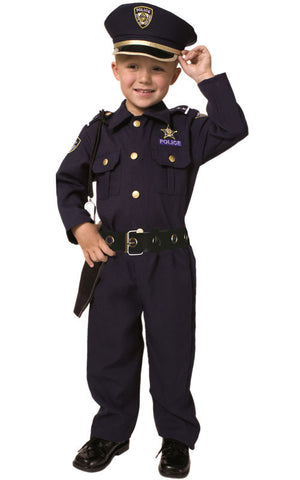 Boys Police Officer Costume - HalloweenCostumes4U.com - Kids Costumes