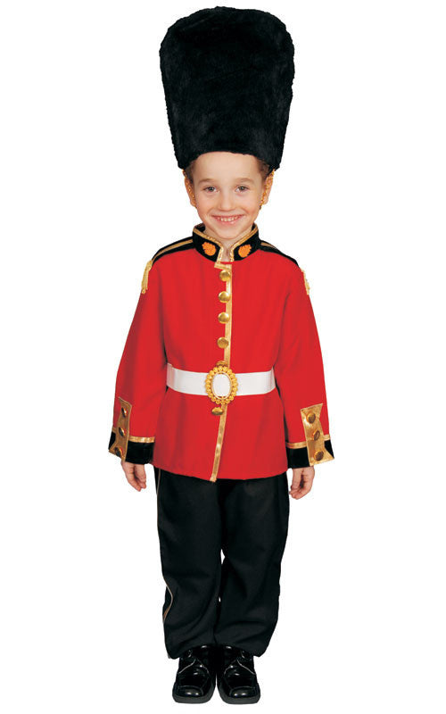 Boys British Royal Guard Costume - HalloweenCostumes4U.com - Kids Costumes