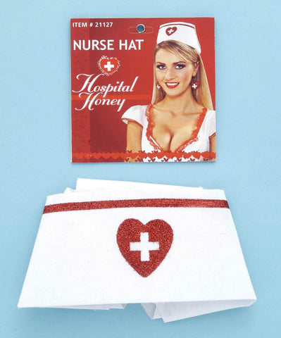 Nurse Hat Costume Hat - HalloweenCostumes4U.com - Accessories