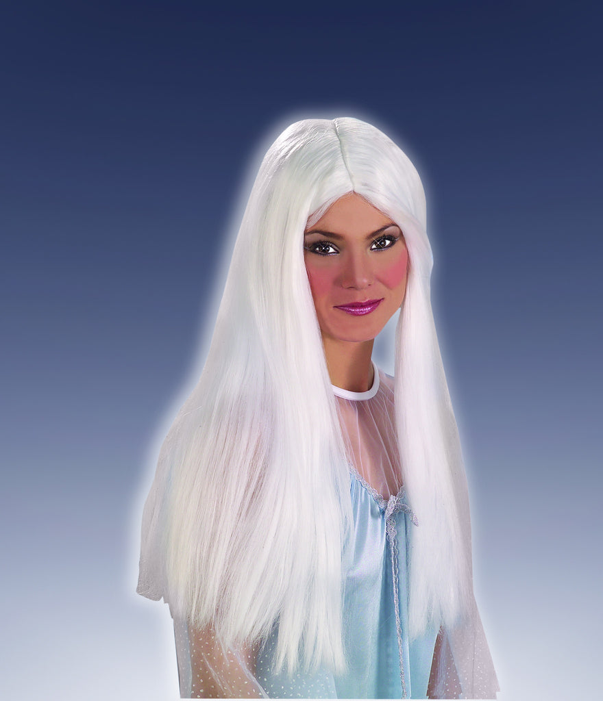 Halloween Wigs Long White Wigs - HalloweenCostumes4U.com - Accessories