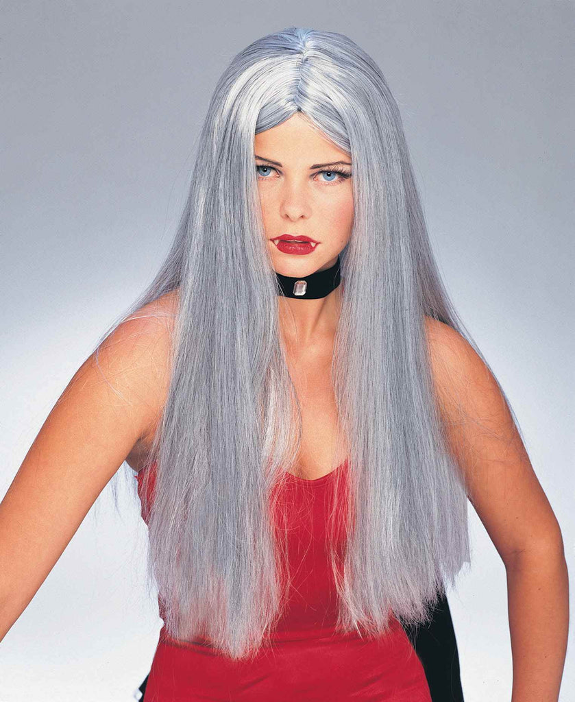 Halloween Wigs Long Grey Wigs
