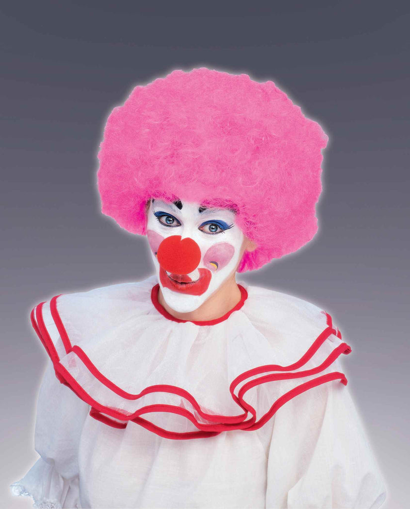 Costume Wigs Clown Wigs Pink Afro Wig - HalloweenCostumes4U.com - Accessories