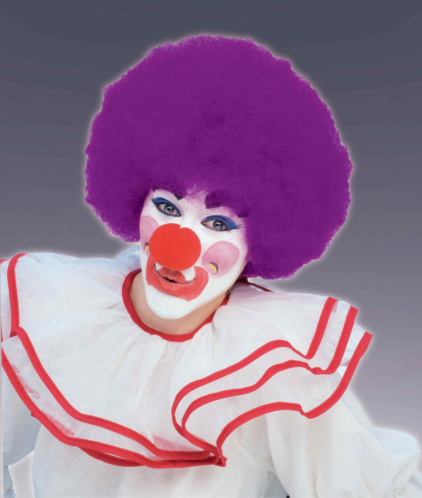 Costume Wigs Clown Wigs Purple Afro Wig - HalloweenCostumes4U.com - Accessories