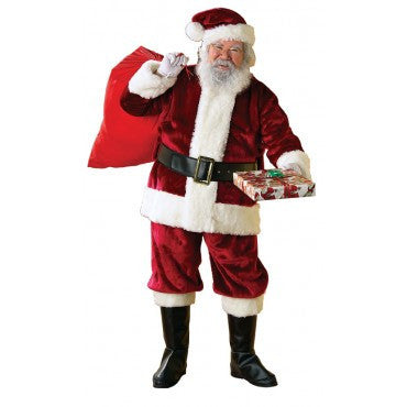 Mens New Crimson Regency Santa Suit - HalloweenCostumes4U.com - Adult Costumes
