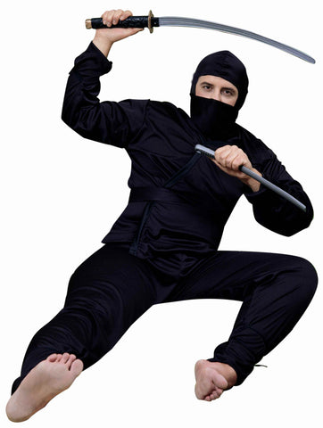 Mens Ninja Costume - HalloweenCostumes4U.com - Adult Costumes