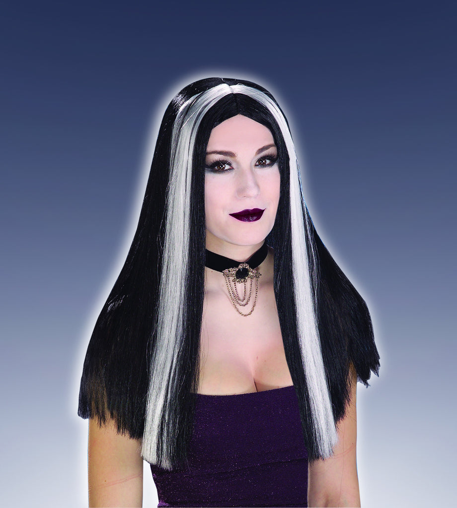 Halloween Wigs Long Streaked Wigs - HalloweenCostumes4U.com - Accessories