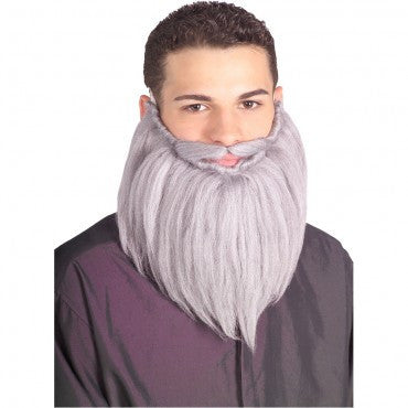 Grey Beard and Mustache Set - HalloweenCostumes4U.com - Accessories