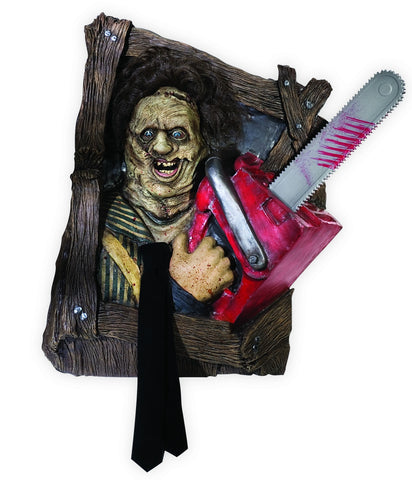 Texas Chainsaw Massacre Leatherface Wallbreaker Decoration - HalloweenCostumes4U.com - Decorations