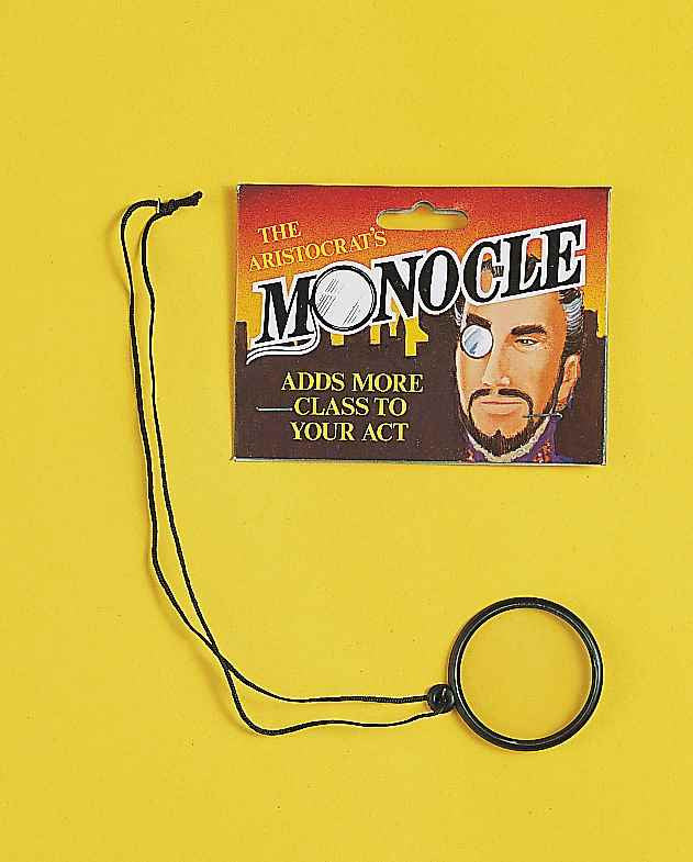 Halloween Costume Monocle Eye Piece - HalloweenCostumes4U.com - Accessories