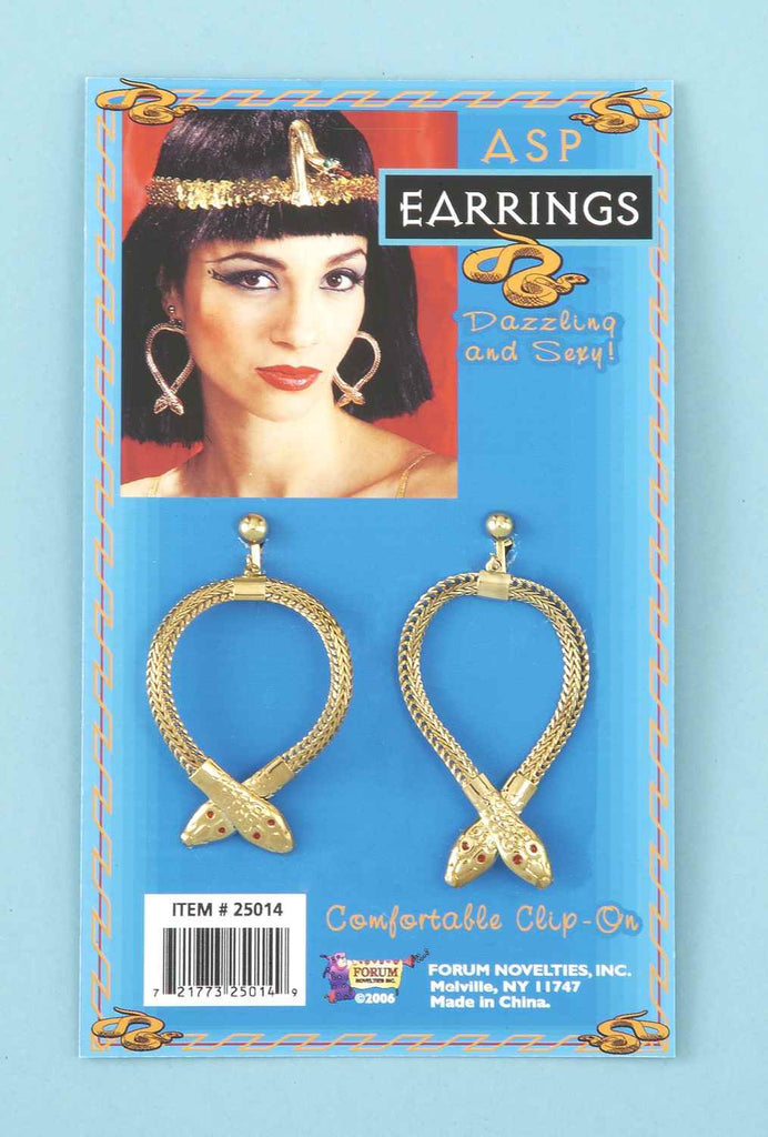 Cleopatra Costume Earrings