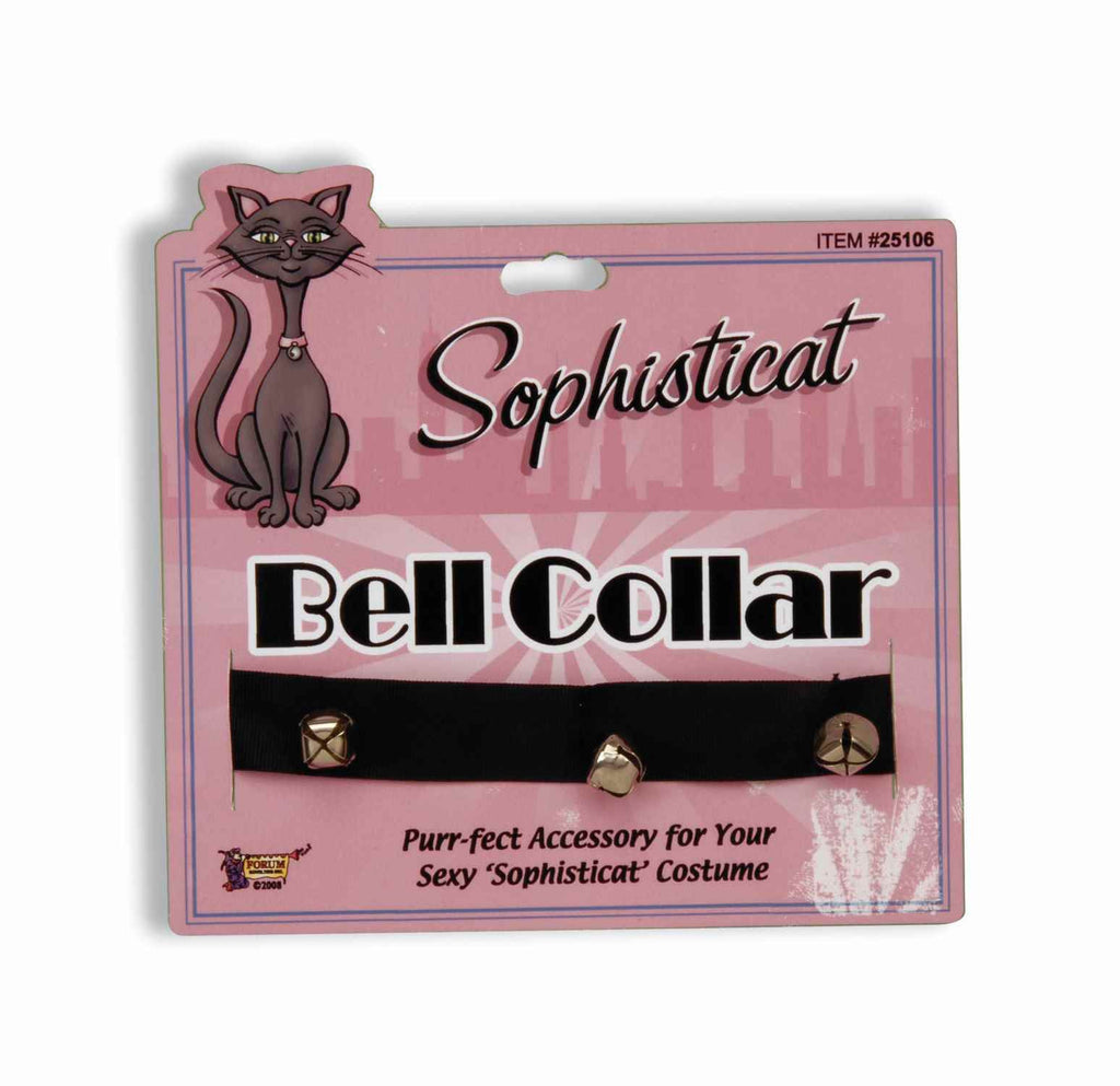 Cat Costume Collar with Bells - HalloweenCostumes4U.com - Accessories