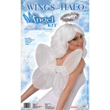 Angel Accesory Kit - HalloweenCostumes4U.com - Accessories