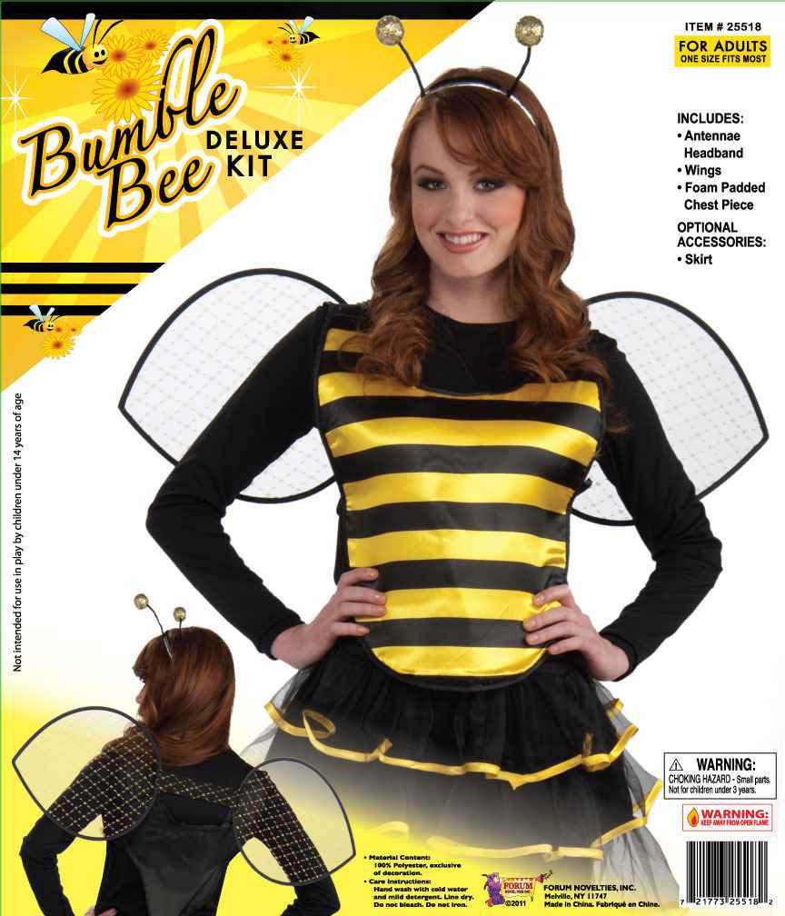 Costume Kits Bee Halloween Costume Kit Adult - HalloweenCostumes4U.com - Accessories