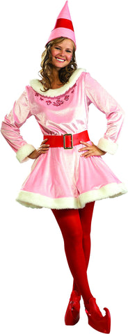Womens Buddy the Elf Deluxe Jovi Adult Costume - HalloweenCostumes4U.com - Adult Costumes