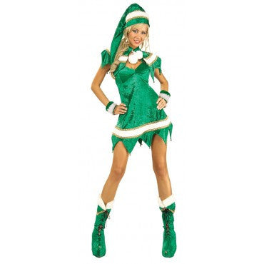 Women Sassy Elf Costume - HalloweenCostumes4U.com - Adult Costumes