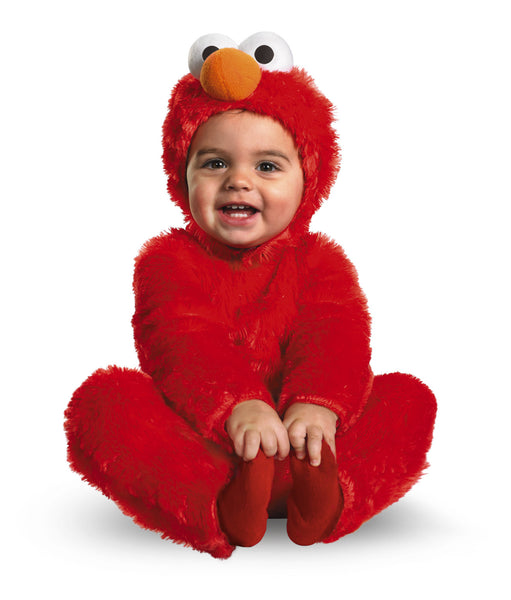 Boys Plush Elmo Costume - HalloweenCostumes4U.com - Kids Costumes - 2