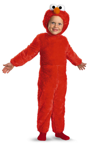 Boys Plush Elmo Costume - HalloweenCostumes4U.com - Kids Costumes - 1