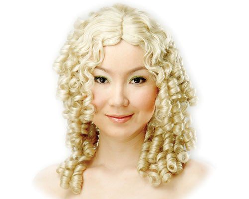 Blonde Ringlets Wig - HalloweenCostumes4U.com - Accessories