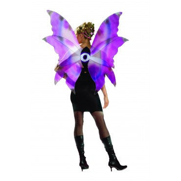 Purple and Blue Fairy Wings - HalloweenCostumes4U.com - Accessories