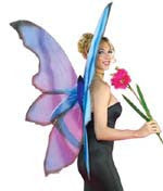 Blue Fairy Wings - HalloweenCostumes4U.com - Accessories