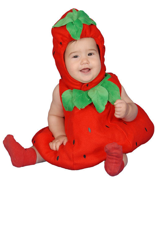 Infants/Toddlers Strawberry Costume - HalloweenCostumes4U.com - Infant & Toddler Costumes