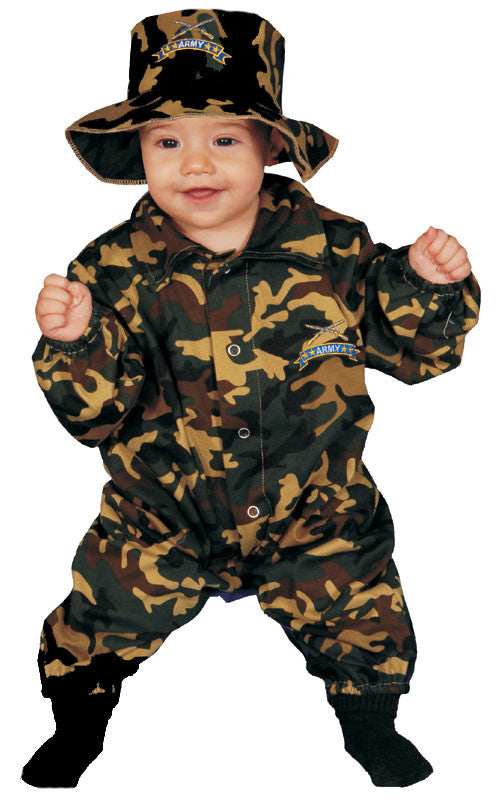 Infants/Toddlers Army Soldier Costume - HalloweenCostumes4U.com - Infant & Toddler Costumes