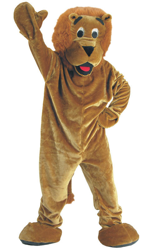 Adults Roaring Lion Mascot Costume - HalloweenCostumes4U.com - Adult Costumes