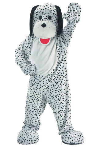 Adults Dalmatian Mascot Costume - HalloweenCostumes4U.com - Adult Costumes