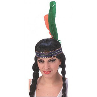 Native American Feathered Headdress - HalloweenCostumes4U.com - Accessories