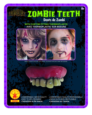 Zombie Teeth - HalloweenCostumes4U.com - Accessories