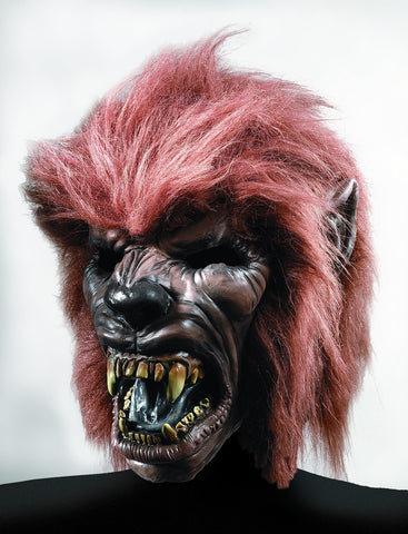 Werewolf with Hair Mask - HalloweenCostumes4U.com - Accessories