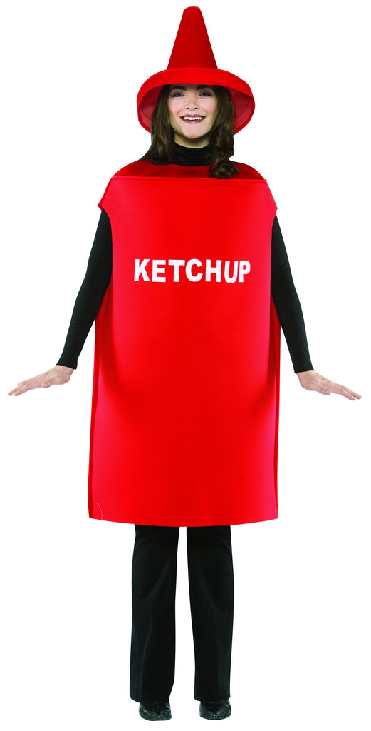 Adults Ketchup Bottle Costume