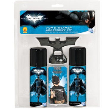 Batman Fun Streamer Accessory Kit - HalloweenCostumes4U.com - Accessories