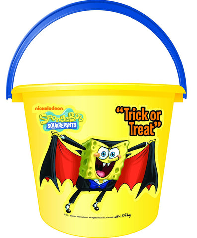 Spongebob Trick or Treat Bucket - HalloweenCostumes4U.com - Accessories